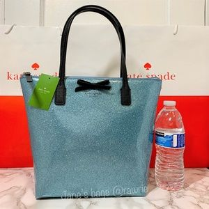New Kate Spade Glitter Jeralyn Small Tote